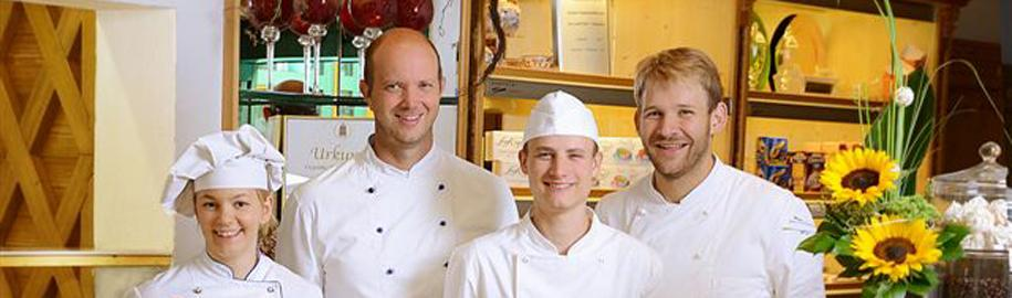 Konditoren des Cafe Chiemgau Ruhpolding