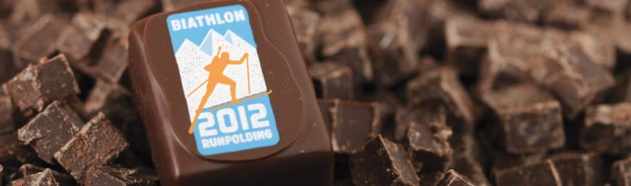 Biathlon WM 2012 Praline | Cafe Chiemgau in Ruhpolding