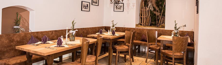 Räumlichkeiten vom Café Chiemgau